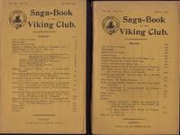 image of SAGA-BOOK OF THE VIKING CLUB. Vol. IV, Part I (1905) and Vol. IV, Part II (1906)