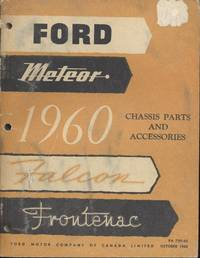 Ford, Meteor, Falcon, Frontenac Chassis Parts and Accessories 1960