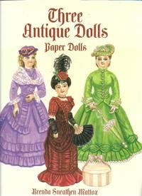 image of Three Antique Dolls Paper Dolls