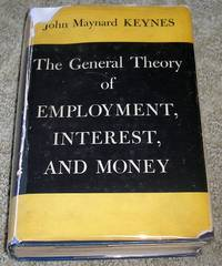 image of The General Theory of Employment Interest and Money (1st American Printing)