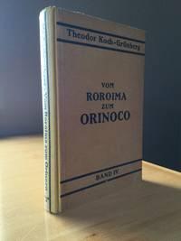 Vom Roroima zum Orinoco: Ergebnisse einer Reise in Nordbrasilien und Venezuela in den Jahren 1911-1913. Vierter Band: Sprachen.