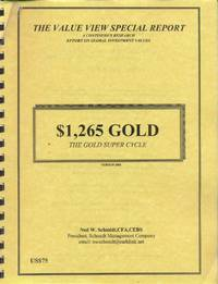 image of $1,265 Gold; The Gold Super Cycle (Version 2003)