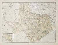 Rand, McNally & Co.'s New Business Atlas Map of Texas.