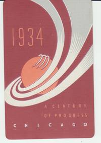 1934 World's Fair Playing Cards. A Century of Progress.. Chicago