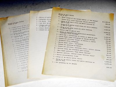 1966. 15 pages of the document prepared for the firm of Pickrell, Hunter, Bartlett & Penn from James...