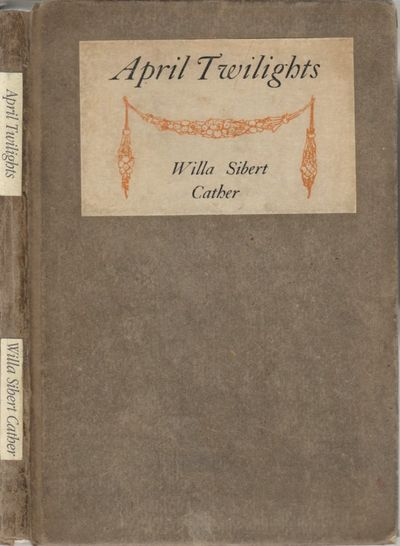 Boston, MA: Richard G. Badger. Good. 1903. First Edition. Hardcover. Cather's first published book, ...
