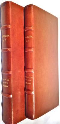 [MEDICAL] [MANUSCRIPT] [ACCOUNT BOOK] Ledger - Dr. Peter Fahrney of Oak Park, Illinois, for period 1861 to 1864
