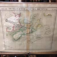 image of Atlas Universel De Geographie, Physique, Politique Et Mineralogique North  America - Map of Nova Scotia and New Brunswick (Nouvelle Ecosse Et Nouveau  Brunswick)