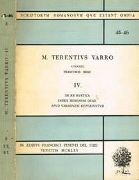 M.TERENTIUS VARRO VOL.IV