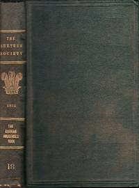 The Durham Household Book; or, The Accounts of the Bursar of the Monastery of Durham
