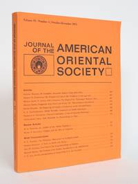 image of Journal of the american Oriental Society Vol. 93, Number 4, October-December 1974
