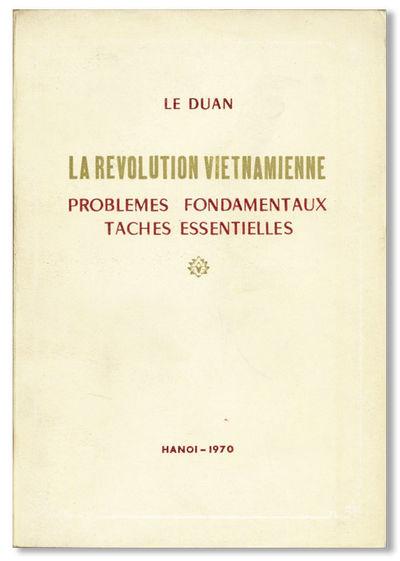 Hanoi: Éditions en Langues Étrangères, 1970. First French Language Edition. Paperback. 12mo (19cm...