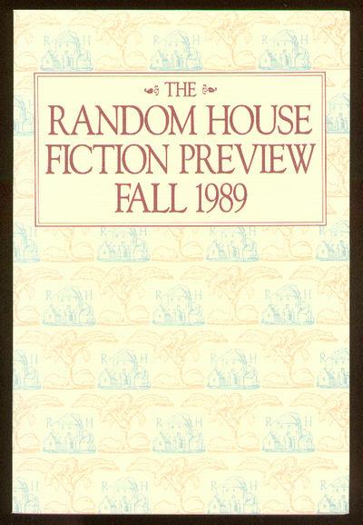 New York: Random House, 1989. Softcover. Fine. Advance Excerpt. Fine in wrappers. Contributors inclu...
