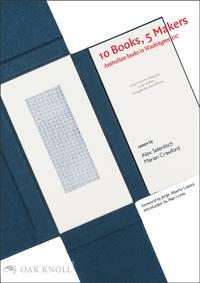 10 BOOKS, 5 MAKERS: AUSTRALIAN BOOKS IN WASHINGTON DC