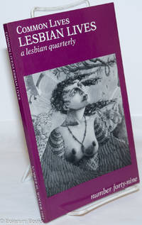 image of Common Lives/Lesbian Lives: a lesbian quarterly; #49, Winter 1993
