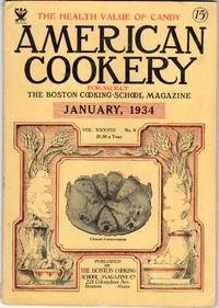Nice Vintage Issue of the American Cookery Magazine for January 1934