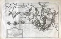 Karte von dem Eylande Cheu-Chan oder Chusan in der Provinz Che-kiang, nebst den Kusten und...