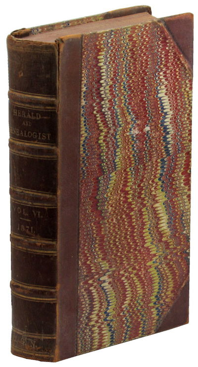 London: J.G. Nichols and R.C. Nichols, 1871. Hardcover. Very good. iv, 684pp+ index. Contemporary th...