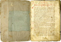 Statutes and Register of the Confraternity of the Five Wounds of Our Lord; manuscript on parchment and paper, in Italian