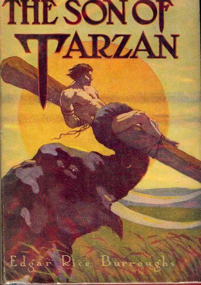 NY: Grosset & Dunlap, 1917. BURROUGHS, Edgar Rice. THE SON OF TARZAN. NY: Grosset & Dunlap, . Small ...