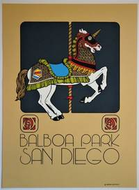 Balboa Park, San Diego: Silkscreen Advertising Poster