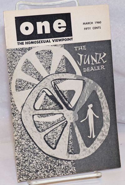 Los Angeles: One, Inc, 1960. Magazine. 32p., including covers, 5.5x8.5 inches, very good digest size...