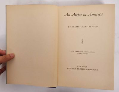 New York: Robert M. McBride & Co, 1937. First edition. Hardcover. Good (light age stains to end page...