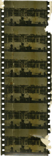 image of The Corbett-Fitzsimmons Fight (Original 63mm film fragments from the 1897 film)