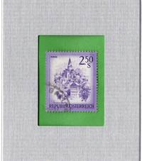Framed Postage Stamp Mini-Art - Schloss Obermarau Austria
