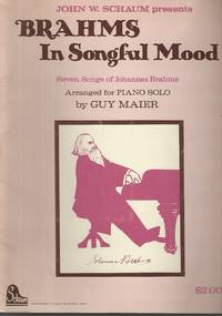 Brahms In Songful Mood Piano Solo