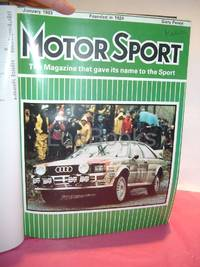 MOTOR SPORT MAGAZINE. A Long Run of 38 Years , 1959-1996 [vol. 35-72]