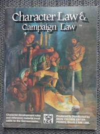 image of CHARACTER LAW & CAMPAIGN LAW.  STOCK # RM 1300.