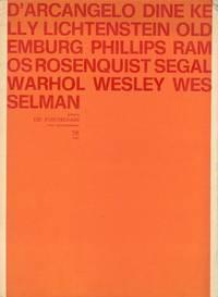 D'Arcangelo Dine Kelly Lichtenstein Oldemburg Phillips Ramos Rosenquist Segal Warhol Wesley Wess