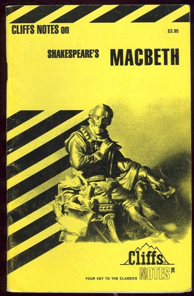 CLIFFS NOTES ON SHAKESPEARE'S MACBETH, Calandra, Denis