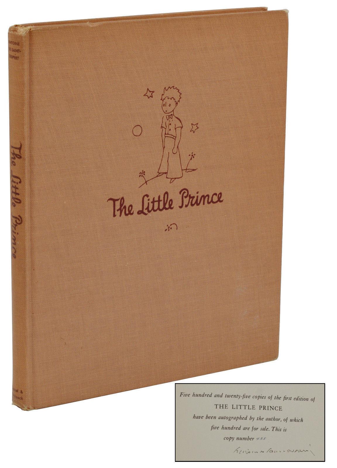 The Little Prince By Saint Exupery Antoine De 1943