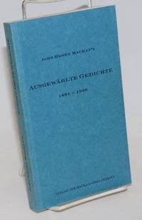 Ausgewahlte Gedichte 1884 - 1926