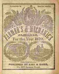 image of Farmer's & Mechanic's Almanac, For The Year 1870.