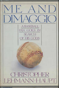 ME and DIMAGGIO (SIGNED)