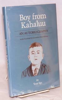 Boy from Kahaluu; an autobiography