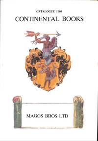 Catalogue 1160/1993: Continental Books. by MAGGS BROS - LONDON  - from Frits Knuf Antiquarian Books (SKU: 53089)