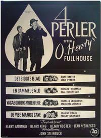 [Danish Theatrical Poster for:] 4 PERLER EFTER O. HENRY'S FULL HOUSE