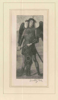 [Original Wood Engraving of Armored Angel with Shield] by  Timothy Cole - 1892 - from William Reese Company - Literature ABAA-ILAB and Biblio.com