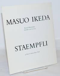 image of Masuo Ikeda: Recent Watercolors, October 9 to 26, 1974