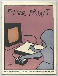 image of Fine Print: Volume 10, Number 1, January, 1984