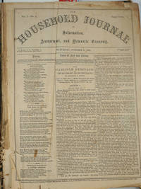 image of The Household Journal of Information, Amusement, and Domestic Economy Vol. 1 No. 1 - No. 25