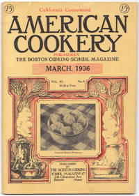image of A Vintage Issue of the American Cookery Magazine for March 1936