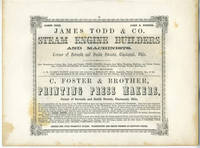 image of American Commercial Advertising - Steam Engine Builders and Printing Press Makers