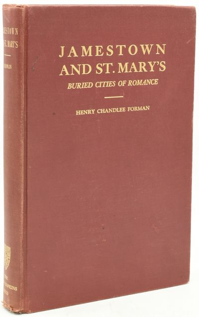 Baltimore: The Johns Hopkins University Press, 1938. First Edition. Hard Cover. Very Good binding. T...