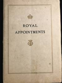 image of Royal Appointments and Decorations Conferred in Appreciation of the Steinway Piano