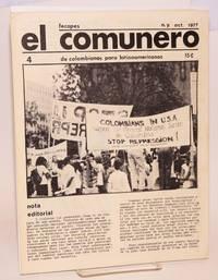 El Comunero: De Colombianos para Latinoamericanos. No. 4, Oct. 1977